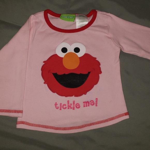 a9046b23fcd4 Sesame Street Shirts & Tops | Elmo Tickle Me Shirt | Poshmark